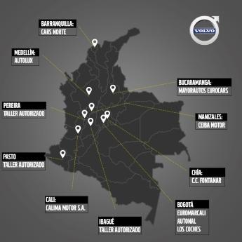 Concesionarios Volvo Cars, una robusta red de tecnología, lujo, bienestar y seguridad