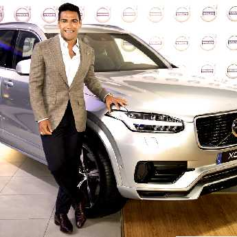 Falcao García es nombrado nuevo embajador de  Volvo Cars para Colombia